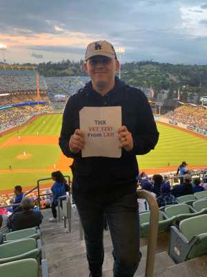 Jacob attended Los Angeles Dodgers vs. Washington Nationals - MLB on May 10th 2019 via VetTix