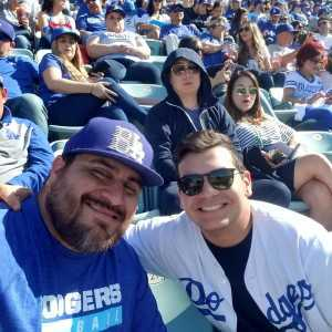 Carlos attended Los Angeles Dodgers vs. Washington Nationals - MLB on May 10th 2019 via VetTix