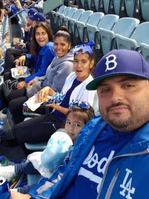 Jesus attended Los Angeles Dodgers vs. Washington Nationals - MLB on May 10th 2019 via VetTix