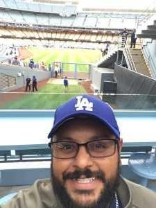 Mario attended Los Angeles Dodgers vs. Washington Nationals - MLB on May 10th 2019 via VetTix