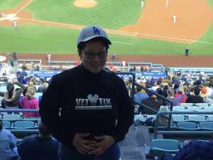 Monique attended Los Angeles Dodgers vs. Washington Nationals - MLB on May 10th 2019 via VetTix