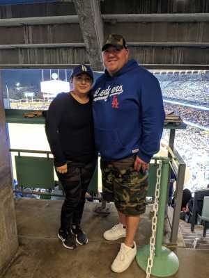 Rene attended Los Angeles Dodgers vs. Washington Nationals - MLB on May 10th 2019 via VetTix