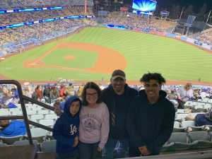 Mollie attended Los Angeles Dodgers vs. Washington Nationals - MLB on May 10th 2019 via VetTix