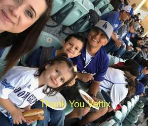 Robert attended Los Angeles Dodgers vs. Washington Nationals - MLB on May 10th 2019 via VetTix