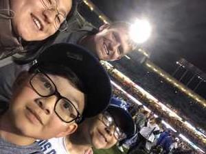 Joshua attended Los Angeles Dodgers vs. Washington Nationals - MLB on May 10th 2019 via VetTix