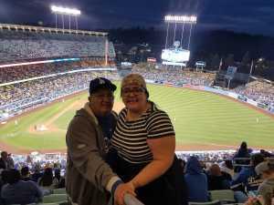 Mayra attended Los Angeles Dodgers vs. Washington Nationals - MLB on May 10th 2019 via VetTix