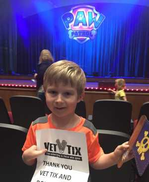 Sergiy attended Paw Patrol Live! The Great Pirate Adventure - Presented by Vstar Entertainment on May 15th 2019 via VetTix