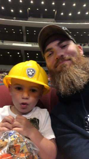 Seth attended Paw Patrol Live! The Great Pirate Adventure - Presented by Vstar Entertainment on May 15th 2019 via VetTix