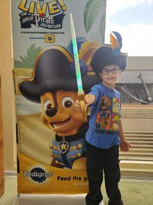 Daniel attended Paw Patrol Live! The Great Pirate Adventure - Presented by Vstar Entertainment on May 22nd 2019 via VetTix