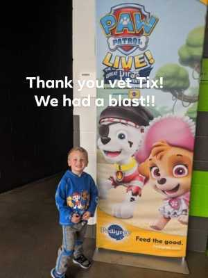 Jeremy attended Paw Patrol Live! The Great Pirate Adventure - Presented by Vstar Entertainment on May 24th 2019 via VetTix
