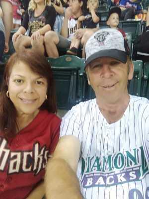 Paul attended Arizona Diamondbacks vs. San Francisco Giants - MLB on May 18th 2019 via VetTix