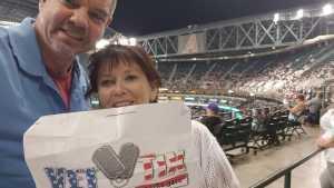 Scott attended Arizona Diamondbacks vs. San Francisco Giants - MLB on May 18th 2019 via VetTix