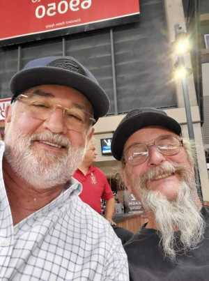 Marc attended Arizona Diamondbacks vs. San Francisco Giants - MLB on May 18th 2019 via VetTix