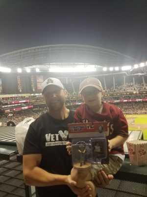 Kyle attended Arizona Diamondbacks vs. San Francisco Giants - MLB on May 18th 2019 via VetTix