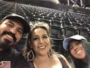 Ricardo attended Arizona Diamondbacks vs. San Francisco Giants - MLB on May 18th 2019 via VetTix
