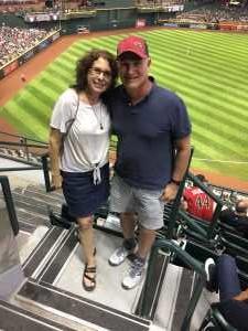 Jeff attended Arizona Diamondbacks vs. San Francisco Giants - MLB on May 18th 2019 via VetTix