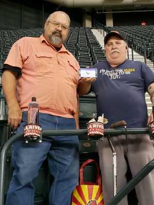 Peter attended Arizona Diamondbacks vs. San Francisco Giants - MLB on May 18th 2019 via VetTix