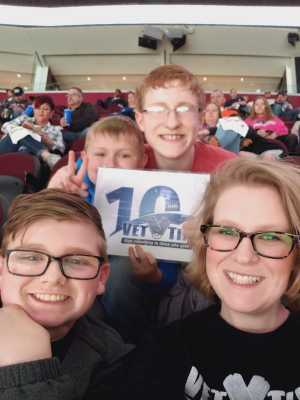 Heath attended Cleveland Monsters vs. Toronto Marlies - AHL - Playoffs - Round 2 on May 5th 2019 via VetTix