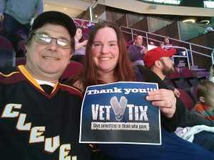 James attended Cleveland Monsters vs. Toronto Marlies - AHL - Playoffs - Round 2 on May 5th 2019 via VetTix