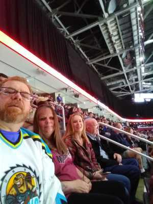 Jeffrey attended Cleveland Monsters vs. Toronto Marlies - AHL - Playoffs - Round 2 on May 5th 2019 via VetTix