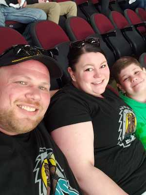 Jeffery attended Cleveland Monsters vs. Toronto Marlies - AHL - Playoffs - Round 2 on May 5th 2019 via VetTix