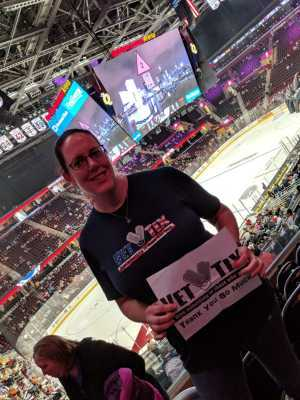Stacy attended Cleveland Monsters vs. Toronto Marlies - AHL - Playoffs - Round 2 on May 5th 2019 via VetTix