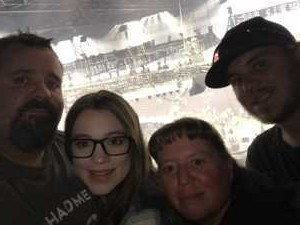 EDDIE attended Carrie Underwood: the Cry Pretty Tour 360 on May 18th 2019 via VetTix