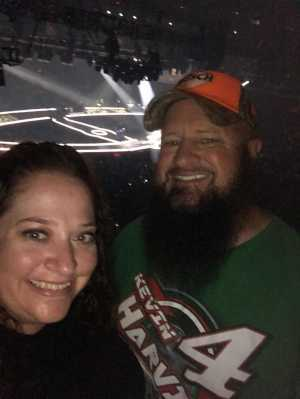 Troy attended Carrie Underwood: the Cry Pretty Tour 360 on May 18th 2019 via VetTix