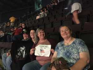 Jennifer attended Carrie Underwood: the Cry Pretty Tour 360 on May 18th 2019 via VetTix