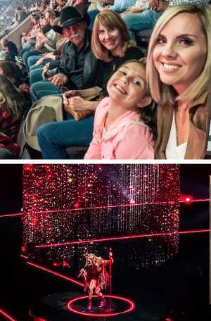 Michael & family  attended Carrie Underwood: the Cry Pretty Tour 360 on May 18th 2019 via VetTix