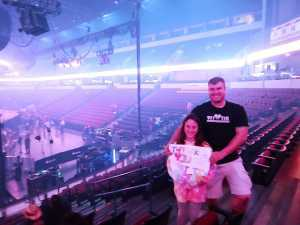 Jeremiah attended Carrie Underwood: the Cry Pretty Tour 360 on May 18th 2019 via VetTix