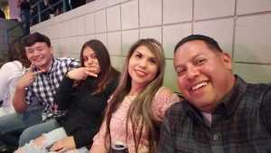 Marcos attended Carrie Underwood: the Cry Pretty Tour 360 on May 18th 2019 via VetTix