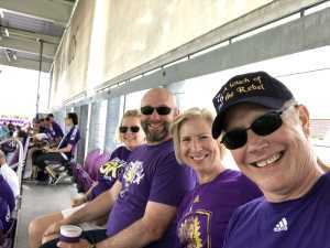Sheryl attended Orlando City SC vs. Toronto FC - MLS on May 4th 2019 via VetTix