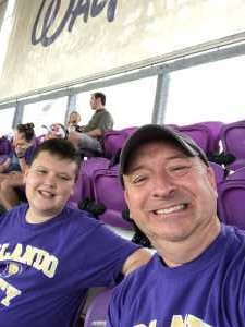 Michael attended Orlando City SC vs. Toronto FC - MLS on May 4th 2019 via VetTix