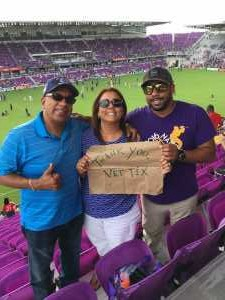 Aurelio attended Orlando City SC vs. Toronto FC - MLS on May 4th 2019 via VetTix
