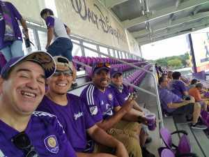Pedro attended Orlando City SC vs. Toronto FC - MLS on May 4th 2019 via VetTix