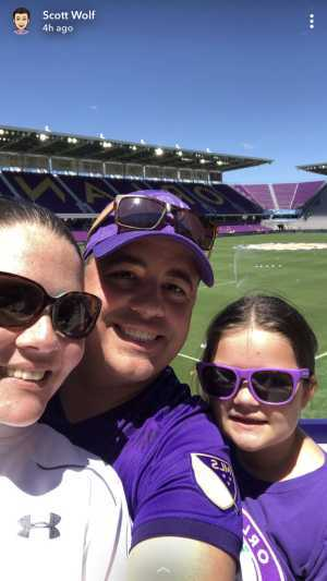 Scott attended Orlando City SC vs. Toronto FC - MLS on May 4th 2019 via VetTix
