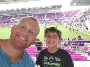 Nathan attended Orlando City SC vs. Toronto FC - MLS on May 4th 2019 via VetTix