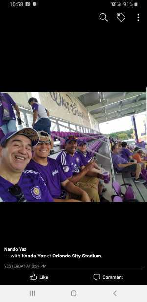 Harold attended Orlando City SC vs. Toronto FC - MLS on May 4th 2019 via VetTix