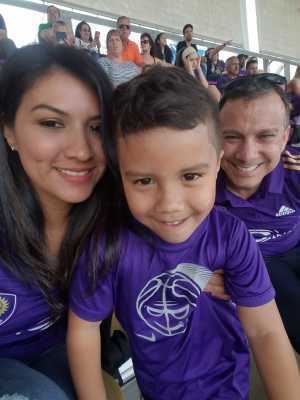 Fernando attended Orlando City SC vs. Toronto FC - MLS on May 4th 2019 via VetTix