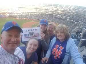 Kevin  attended New York Mets vs. Washington Nationals - MLB on May 21st 2019 via VetTix