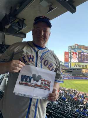 Ken attended New York Mets vs. Washington Nationals - MLB on May 21st 2019 via VetTix