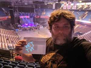 David attended Judas Priest - Firepower 2019 -*See Notes on May 16th 2019 via VetTix
