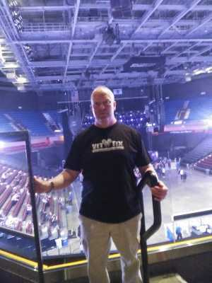 Brian  attended Judas Priest - Firepower 2019 -*See Notes on May 16th 2019 via VetTix