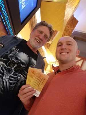 Joe attended Judas Priest - Firepower 2019 -*See Notes on May 16th 2019 via VetTix