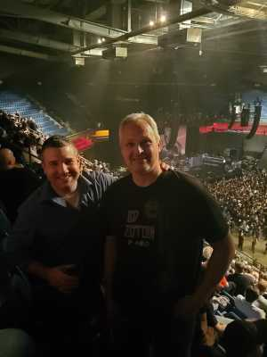 James attended Judas Priest - Firepower 2019 -*See Notes on May 16th 2019 via VetTix