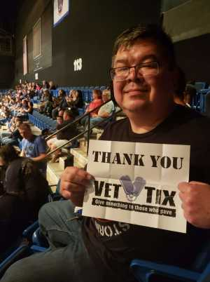 Soontorn attended Judas Priest - Firepower 2019 -*See Notes on May 16th 2019 via VetTix