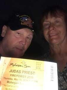 Paul attended Judas Priest - Firepower 2019 -*See Notes on May 16th 2019 via VetTix