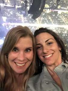Amanda attended New Kids on the Block: the Mixtape Tour on May 4th 2019 via VetTix