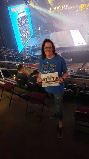 Stacy attended New Kids on the Block: the Mixtape Tour on May 4th 2019 via VetTix